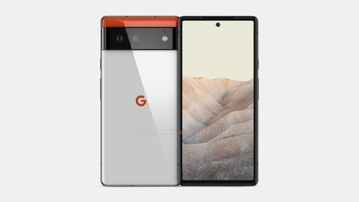 google-pixel-6-rendus-3D-onleaks