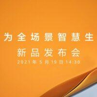 Huawei revient avec de nouveaux produits lors d'une conférence le 19 mai