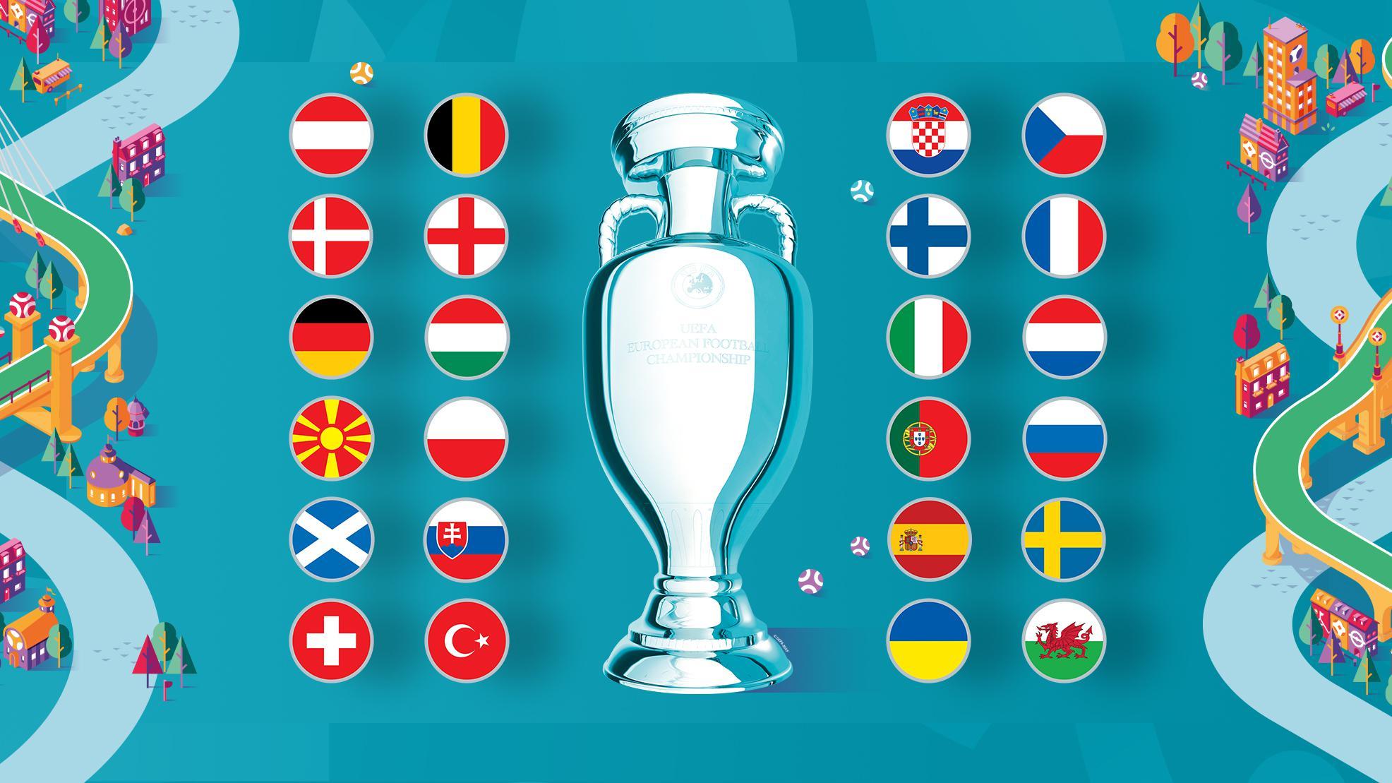 euro, euro 2020, football