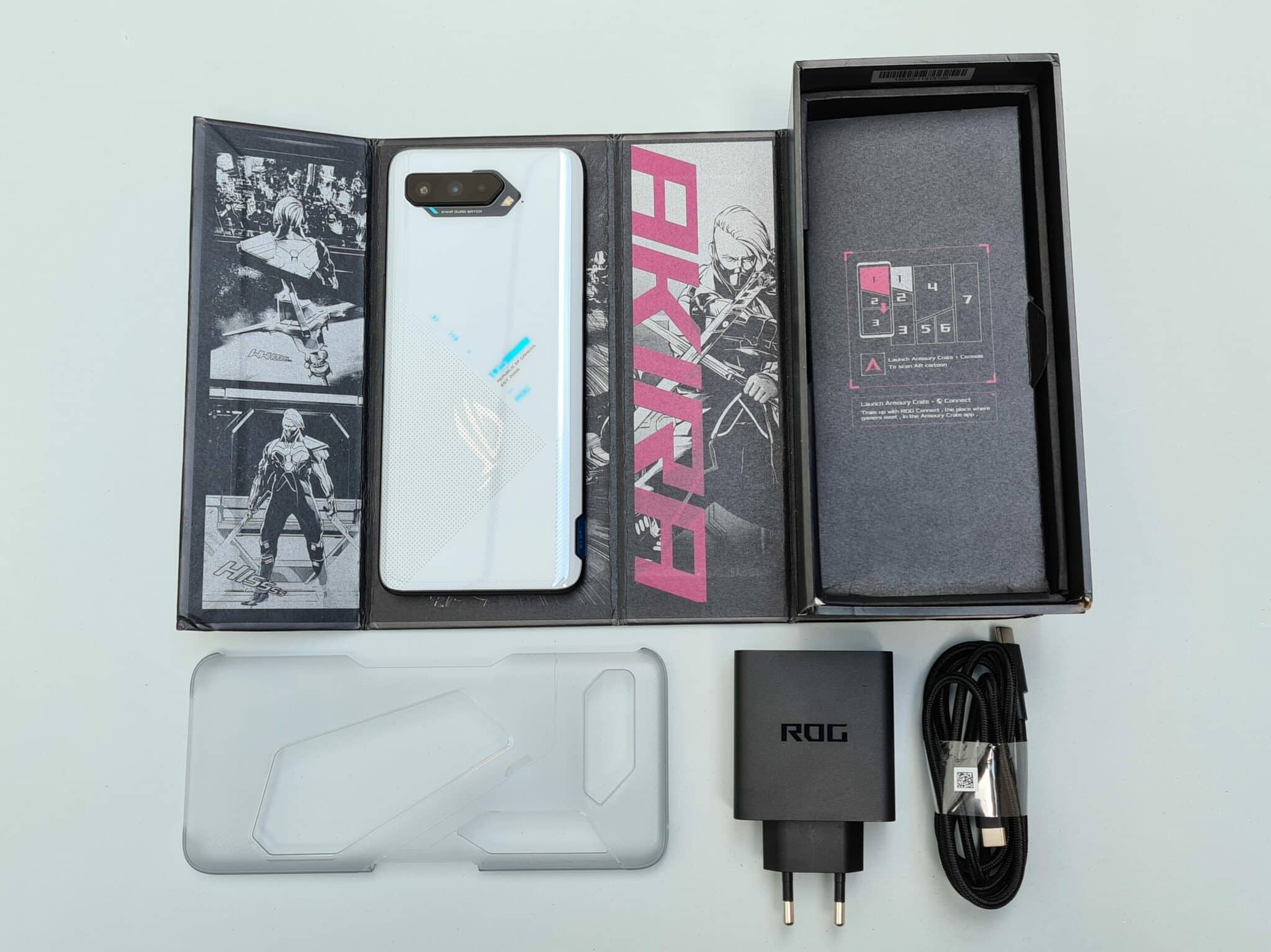 Rog Phone 5 - Packaging Complet