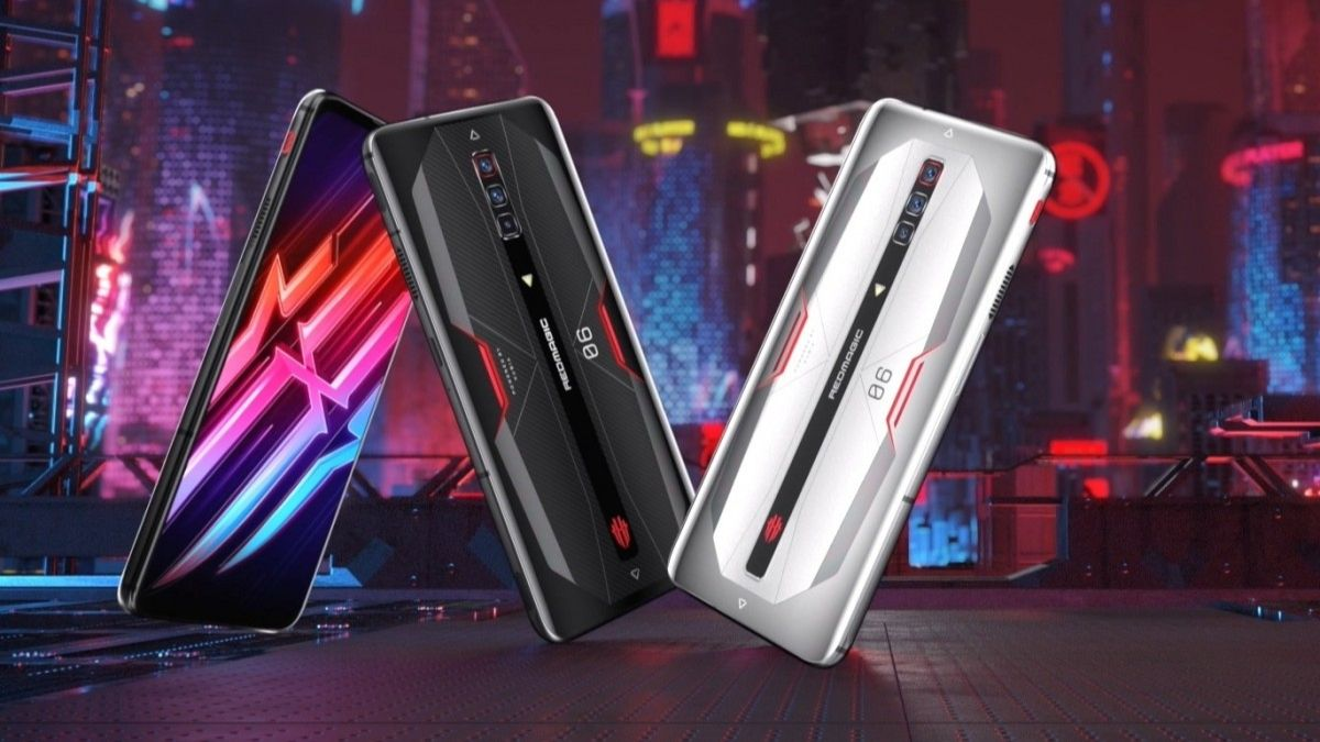 nubia red magic 6 smartphone gaming