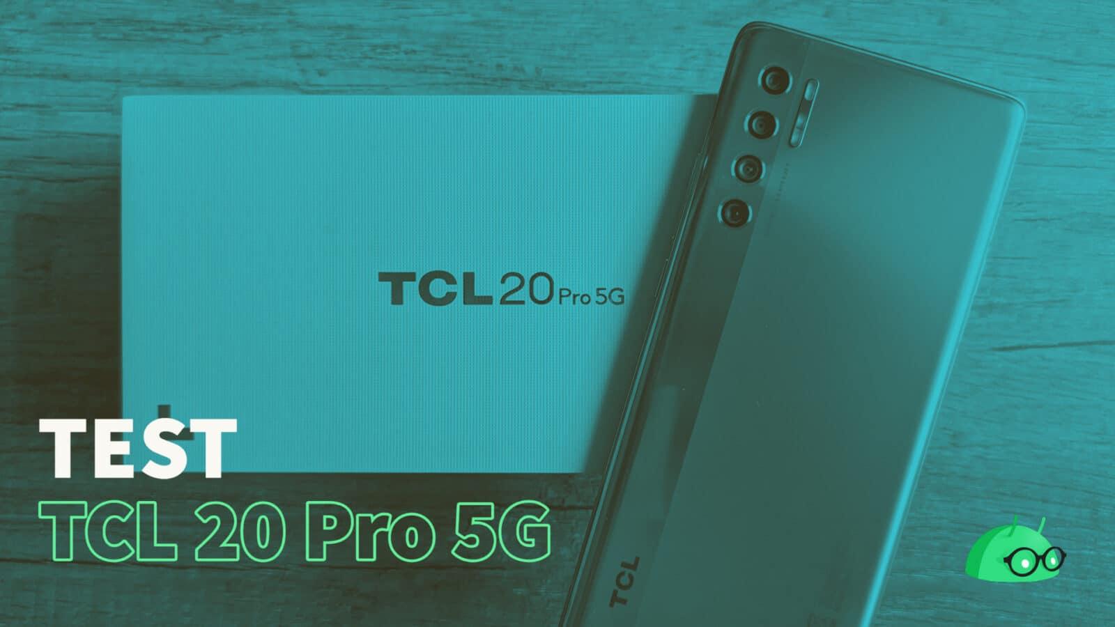 Couverture TCL 20 Pro 5g