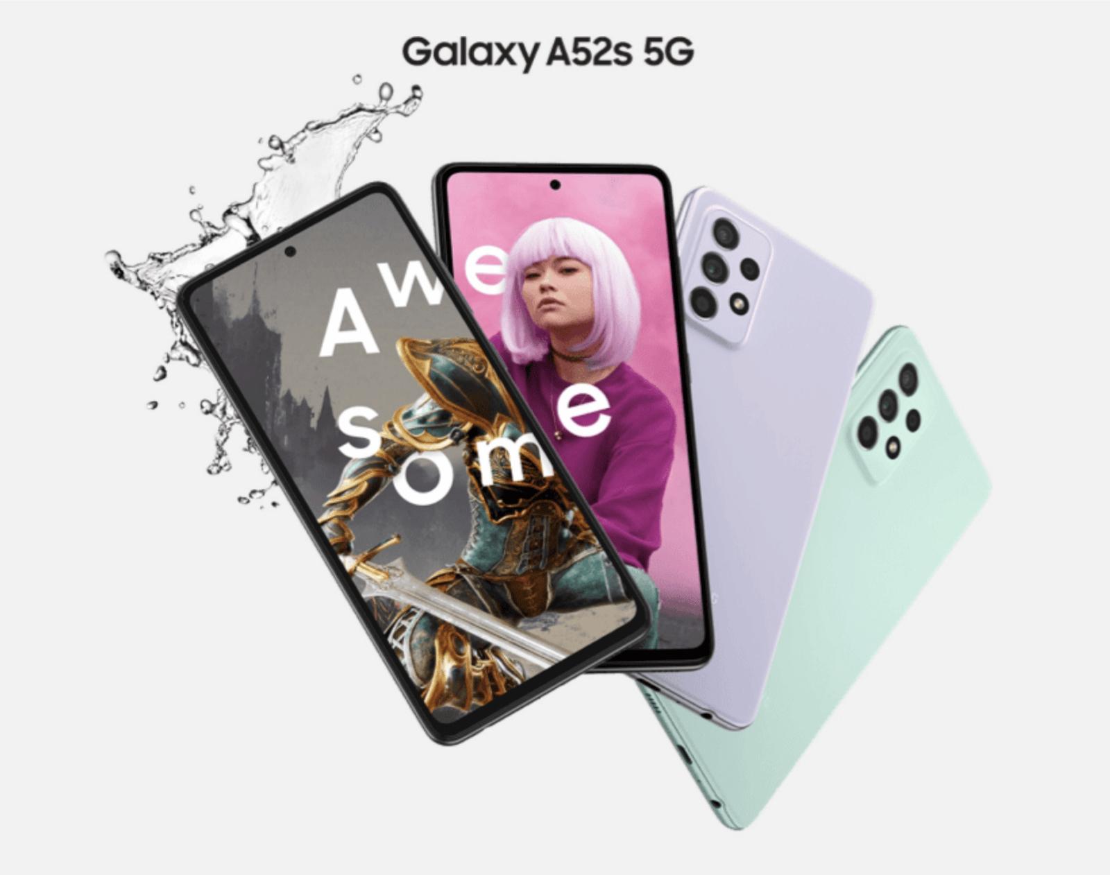 Galaxy-A52s-5G-Samsung-smartphone