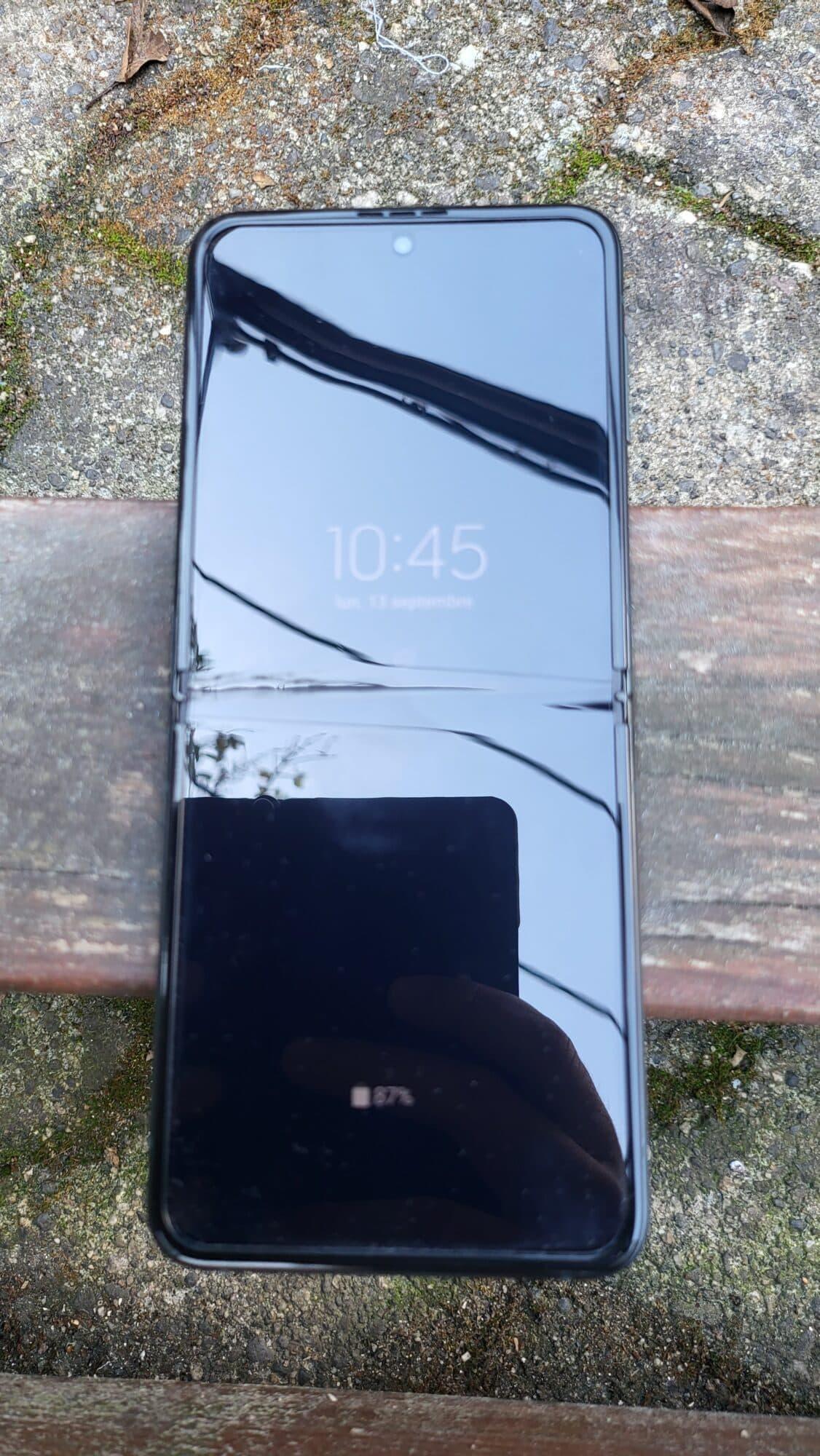 Galaxy Z Flip 3 - Ecran éteint