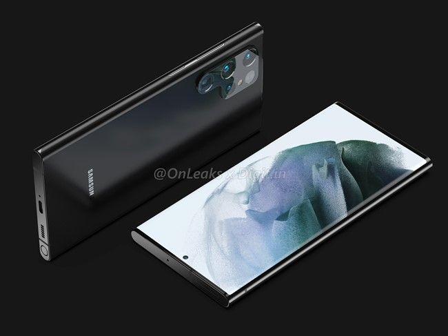Samsung Galaxy S22 Ultra design 3
