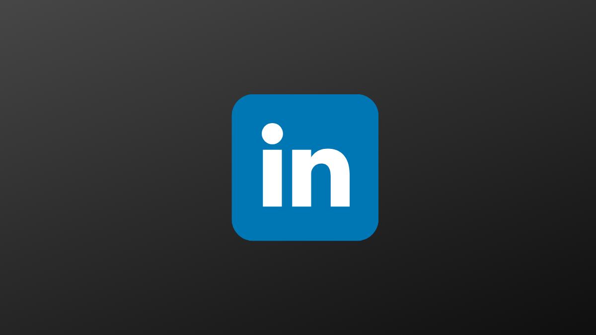 mode sombre, Activer le mode sombre sur l'application LinkedIn