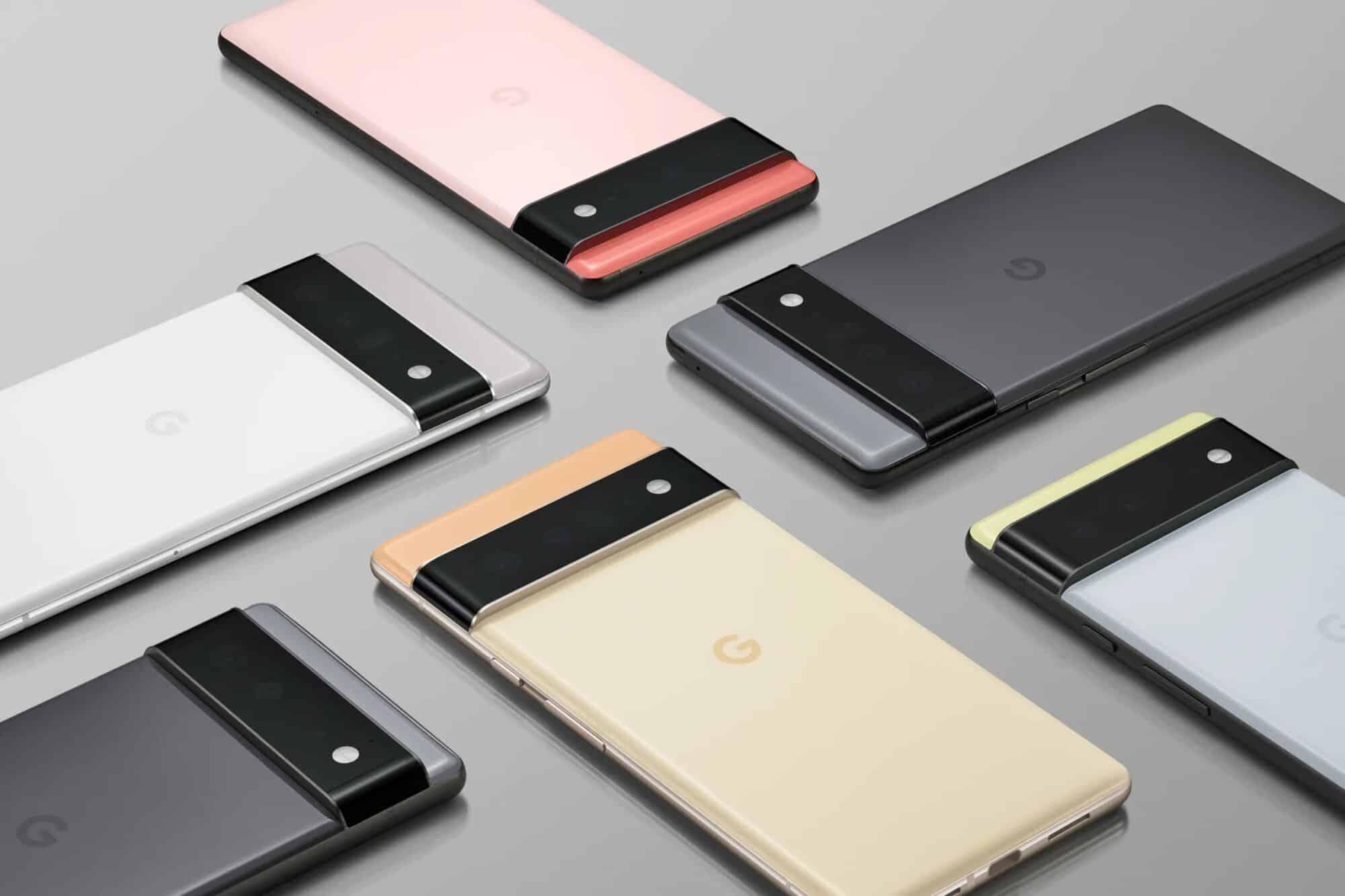 google-pixel-6-date-lancement-precommandes