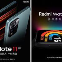 Xiaomi présentera les Redmi Note 11 et Note 11 Pro le 28 octobre